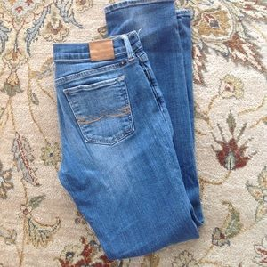 LUCKY BRAND SWEET'N STRAIGHT DISTRESSED DENIM JEAN
